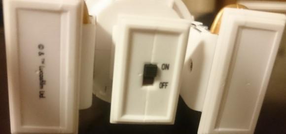 R2D2冷蔵庫トーキングガジェットスイッチ