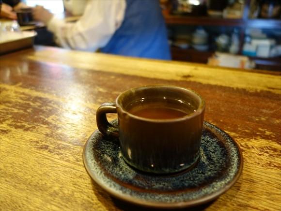 琥珀色のコーヒー