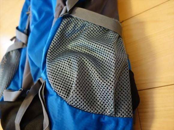 CREEPERバックパックサイドポケット
