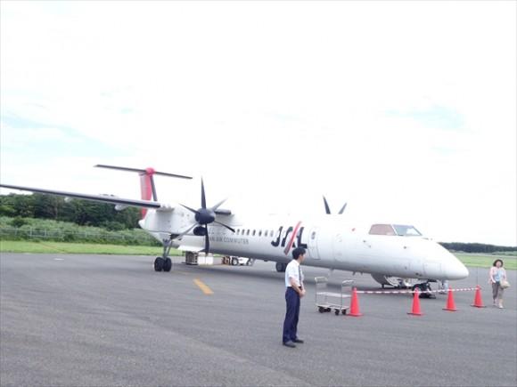 屋久島の飛行機