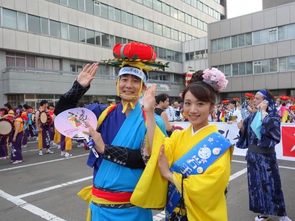 2015年盛岡さんさ踊りパレード2日目