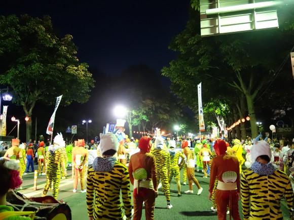 盛岡さんさ踊りパレードやまびこ