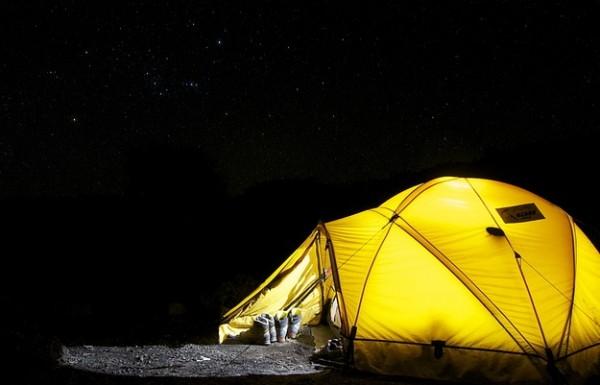 休暇村の手ぶらでキャンプ