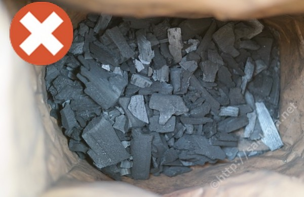 輸入物のクズ炭2