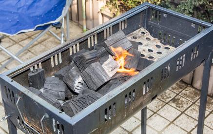 火おこし器があれば炭火つくりが簡単