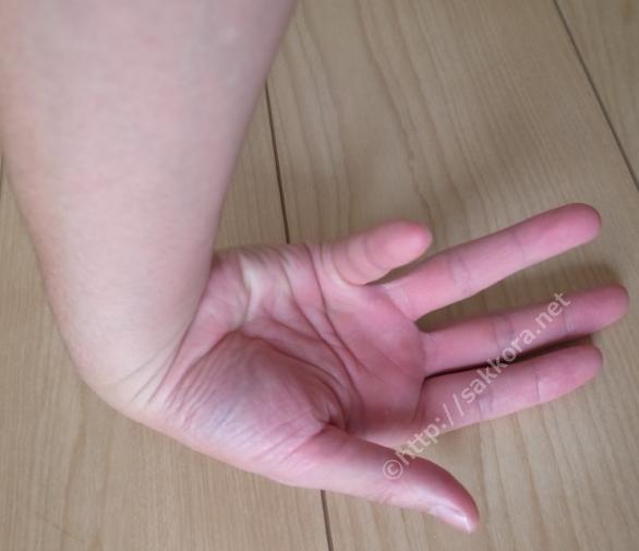 手首と指のストレッチ2