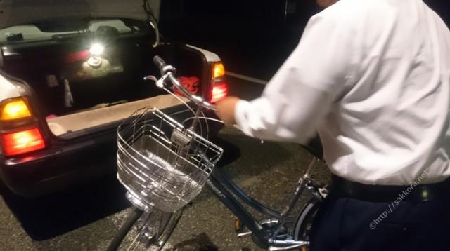 自転車乗せOKの太田タクシー