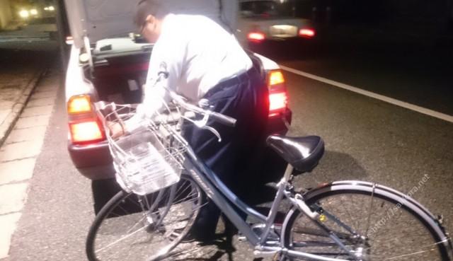 自転車乗せOKの太田タクシー1