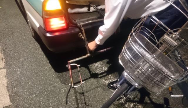 自転車乗せOKの太田タクシー2
