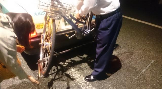 自転車乗せOKの太田タクシー4