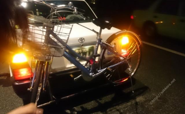自転車乗せOKの太田タクシー5