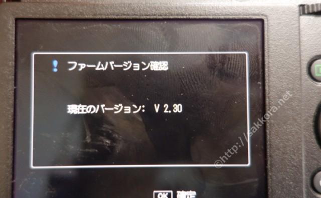 GR4のバージョン表示