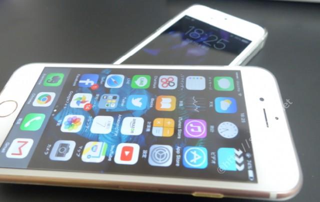 iPhone5sとiPohne6sの動作速度の違い