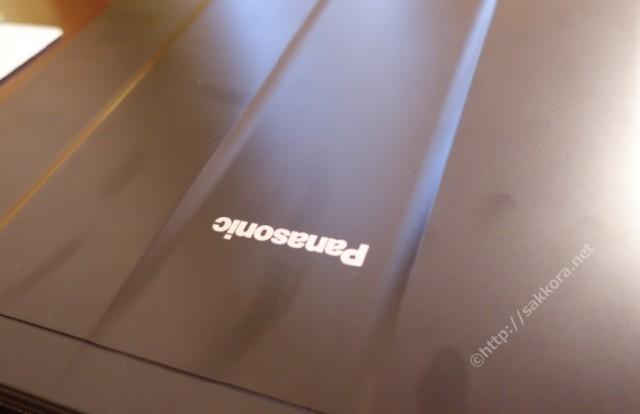 レッツノートSZ5天板の指紋汚れ