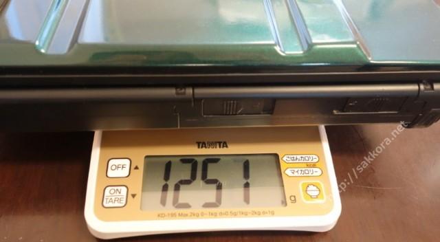 レッツノート従来モデルの重量