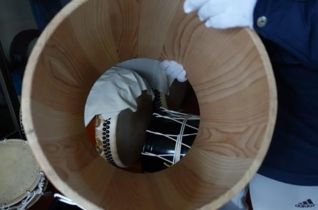 盛岡さんさ踊り太鼓の昔の材質