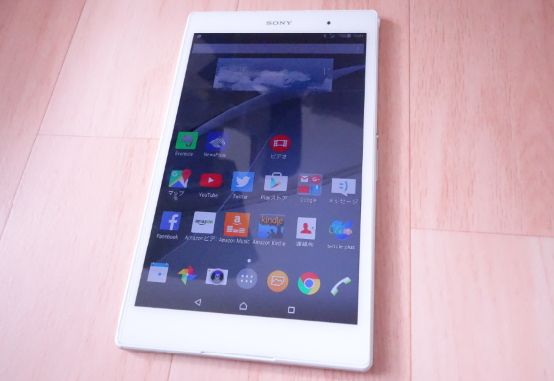XperiaZ3タブレットCompactSGP621