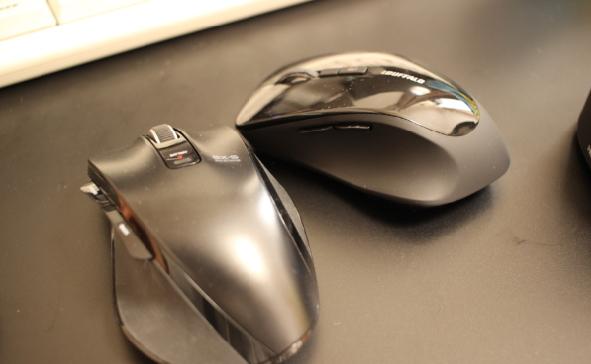 形の違うマウス