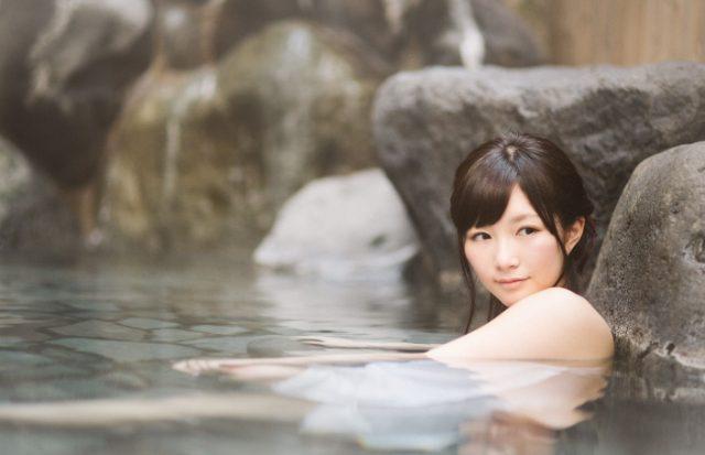 熱いお湯で入浴