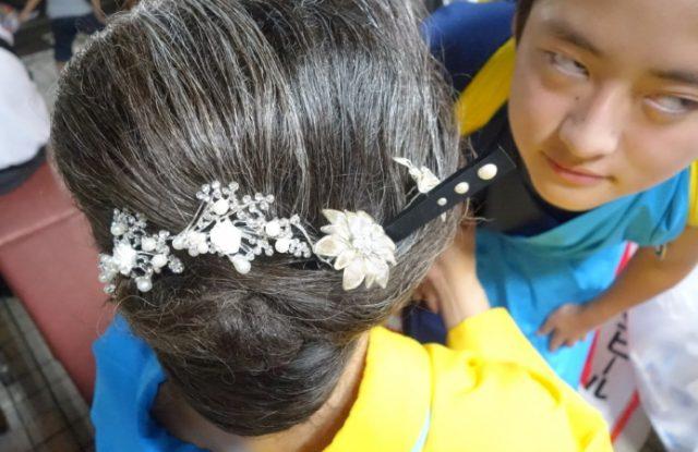 盛岡さんさ踊りヘアスタイル・飾り付け・小物集37