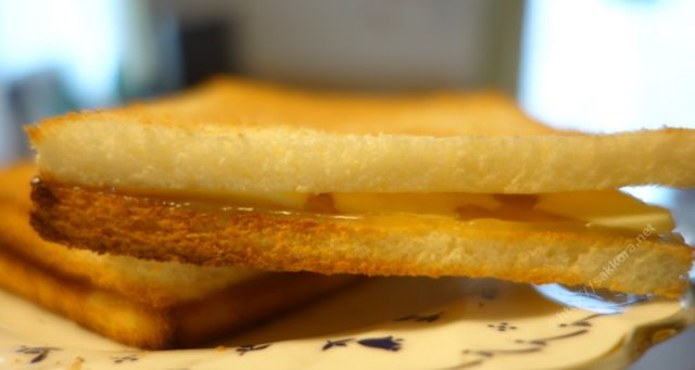 美味しいカヤトースト