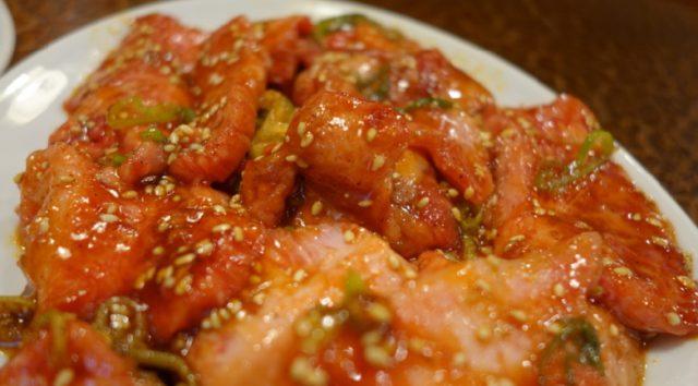 盛岡美味しい焼肉米内カルビ