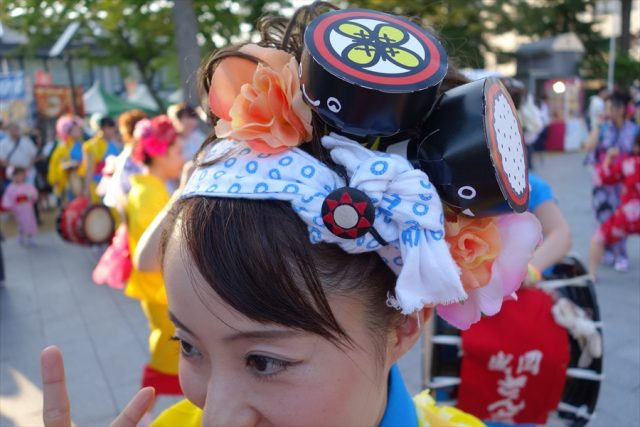 盛岡さんさ踊りヘアスタイル・飾り付け・小物集41