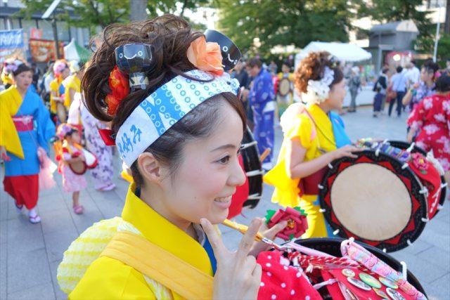盛岡さんさ踊りヘアスタイル・飾り付け・小物集42