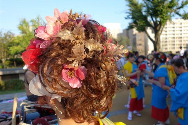 盛岡さんさ踊りヘアスタイル・飾り付け・小物集49