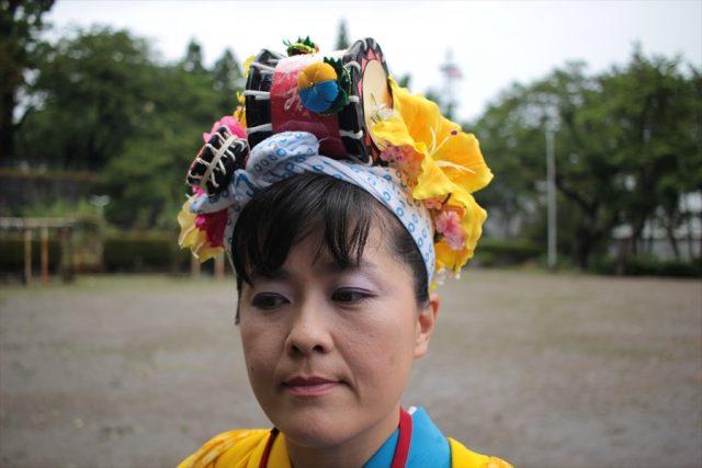 盛岡さんさ踊りヘアスタイル・飾り付け・小物集43