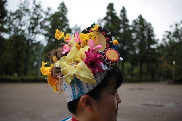 盛岡さんさ踊りヘアスタイル・飾り付け・小物集44