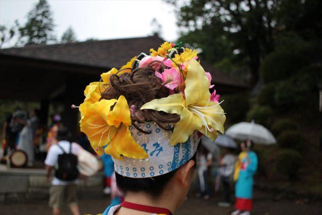 盛岡さんさ踊りヘアスタイル・飾り付け・小物集45