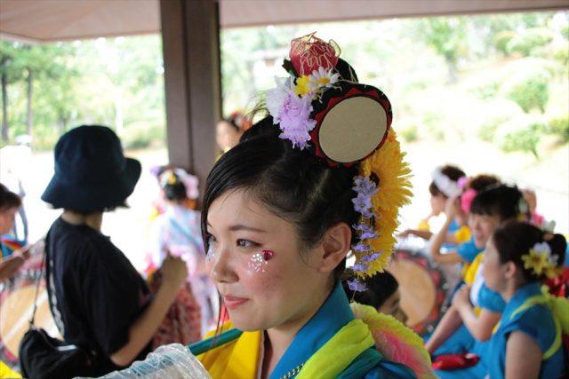 盛岡さんさ踊りヘアスタイル・飾り付け・小物集35