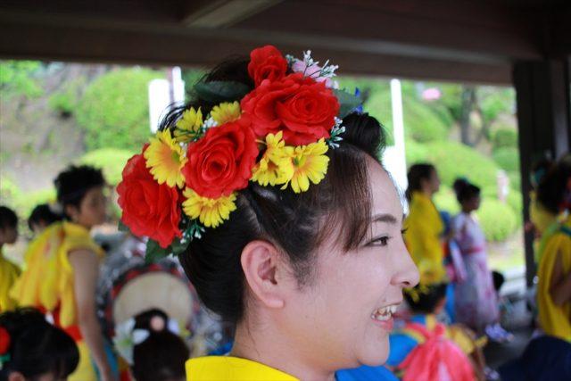 盛岡さんさ踊りヘアスタイル・飾り付け・小物集6