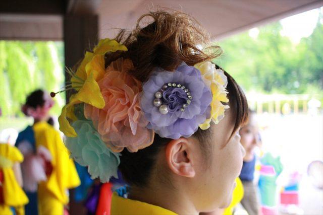 盛岡さんさ踊りヘアスタイル・飾り付け・小物集29
