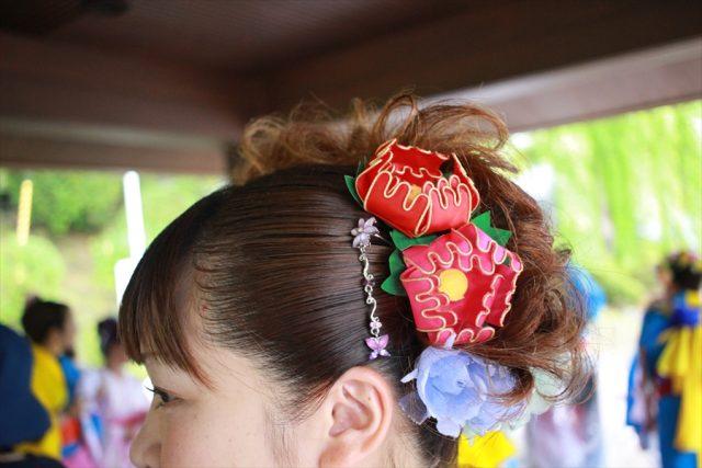 盛岡さんさ踊りヘアスタイル・飾り付け・小物集28