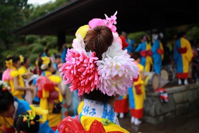 盛岡さんさ踊りヘアスタイル・飾り付け・小物集26