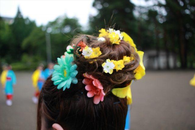 盛岡さんさ踊りヘアスタイル・飾り付け・小物集22