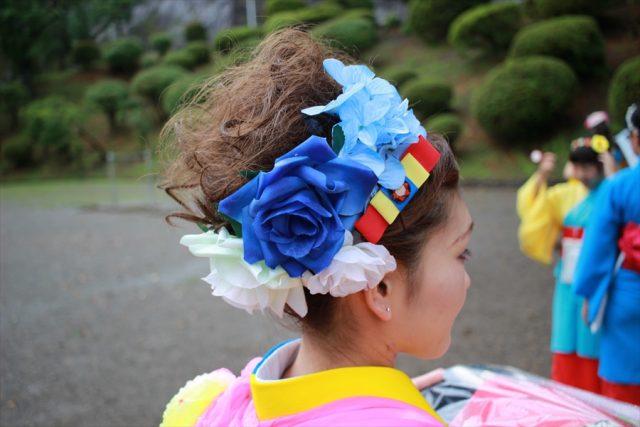 盛岡さんさ踊りヘアスタイル・飾り付け・小物集16