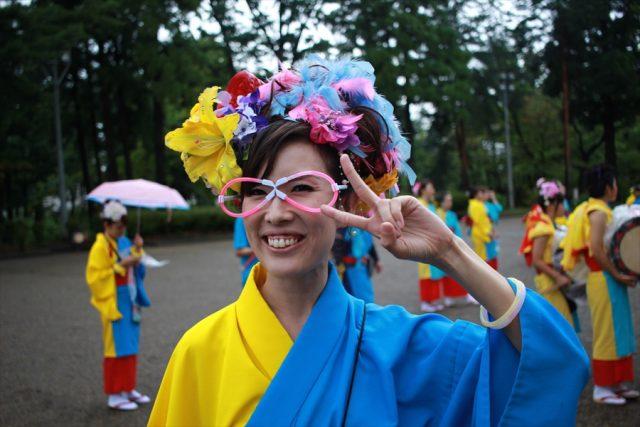 盛岡さんさ踊りヘアスタイル・飾り付け・小物集52