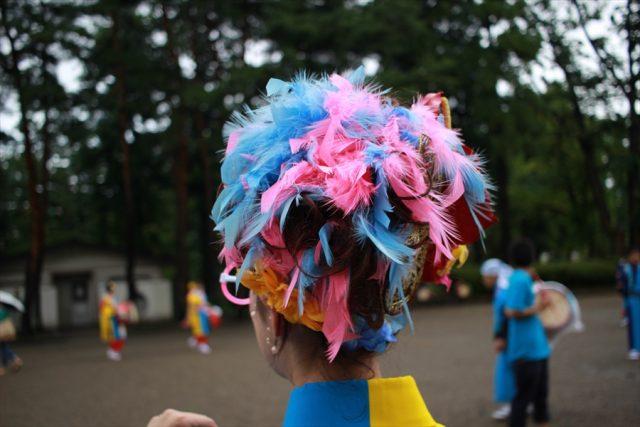 盛岡さんさ踊りヘアスタイル・飾り付け・小物集54