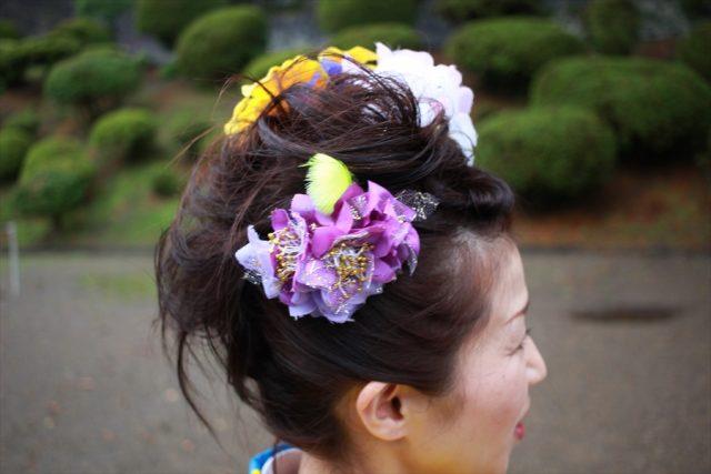 盛岡さんさ踊りヘアスタイル・飾り付け・小物集23