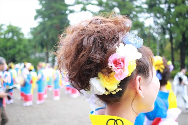 盛岡さんさ踊りヘアスタイル・飾り付け・小物集25