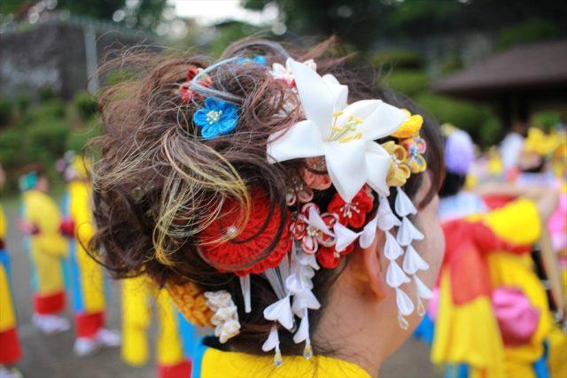 盛岡さんさ踊りヘアスタイル・飾り付け・小物集38