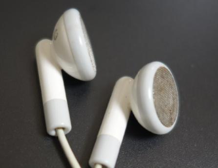iPodのイヤホン