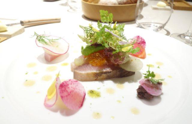 函館フレンチ ロワーゾーマツナガ料理1