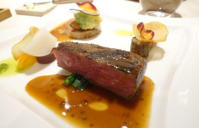 函館フレンチ ロワゾー・パー・マツナガ料理2