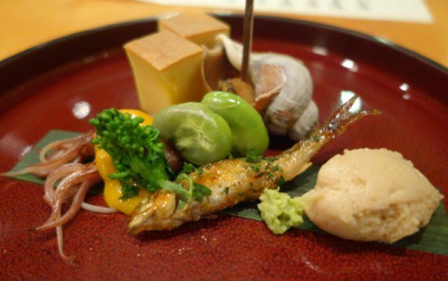 日本料理たかむら料理